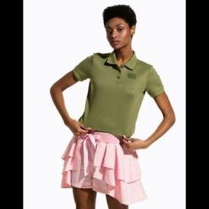NWOT Puma X Fenty by Rihanna crop polo shirt M